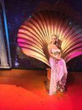 Австралийский эстрадный артист Kylie Minogue в воске Стоковое фото RF