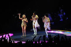 Kylie Minogue in concert Royalty Free Stock Photos