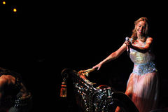 Kylie Minogue in concert Stock Images