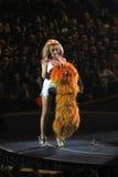 Kylie Minogue en concierto fotografía de archivo libre de regalías