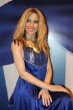 Kylie Minogue at Madame Tussaud's royalty free stock photo