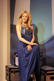 Kylie Minogue. Wax statue at Madame Tussauds in London stock images