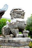 Kylin kamienia symbol chińska religia Fotografia Stock