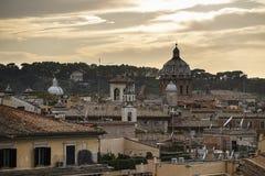 Kyline di Roma Immagini Stock Libere da Diritti
