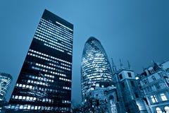 Kyline van Londen, het UK. Royalty-vrije Stock Fotografie