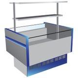 Kylskåp för låg temperatur Arkivbild