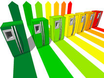 kylskåp sju Royaltyfri Fotografi
