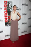 Kym Johnson arrives at the Opening Night of the Play  Stock Photography