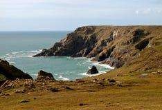 Kynance Bucht Cornwall Stockfotografie