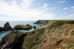 Kynance Cove Cliffs Stock Image