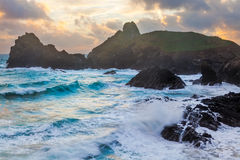 Kynance Cove Cornwall England Royalty Free Stock Image