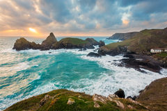 Kynance Cove Cornwall England Royalty Free Stock Images