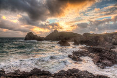Kynance Cove Cornwall England Royalty Free Stock Photography