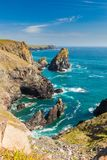 Kynance Cove Cornwall England UK royalty free stock photography