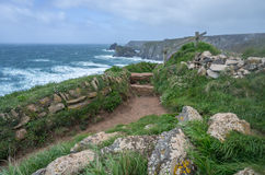 Kynance cove in cornwall england uk Stock Images