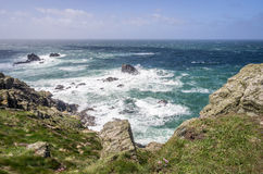 Kynance cove in cornwall england uk Royalty Free Stock Image