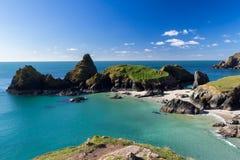 Kynance Zatoczka Cornwall Obrazy Stock