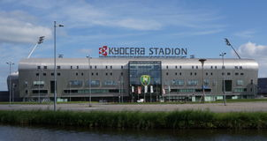 Kyocera Stadium in the Hague, the Netherlands Royalty Free Stock Photography