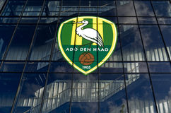 Kyocera stadium premier league football club ADO Den Haag. Royalty Free Stock Image