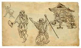 Kyogen Στοκ φωτογραφία με δικαίωμα ελεύθερης χρήσης