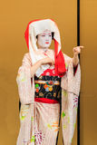 Kyomai Dance Performed by Maiko In Kyoto Royalty Free Stock Photography