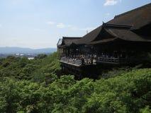 Kyomizu tempel, Kyoto, Japan Royaltyfri Bild