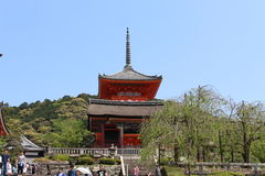 Kyomizu Temple, Kyoto, Japan Royalty Free Stock Photography