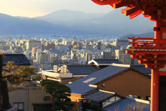 Kyomizu Temple in Winter Season kyoto Japan Royalty Free Stock Images