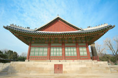 Kyongbok palace korea beautiful history landscape Royalty Free Stock Photo