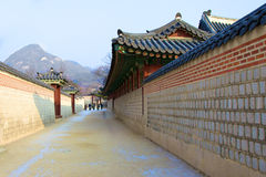 Kyongbokkung Palace,Seoul Korea Royalty Free Stock Image
