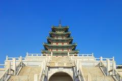 Kyongbokkung slott Royaltyfri Fotografi
