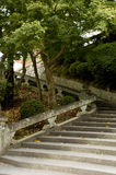 Kyoto Alleyways - stairs Royalty Free Stock Image