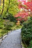 Kyoto Autumn Foliage 1. Autumn foliage in Japan`s ancient capital Kyoto Royalty Free Stock Photo