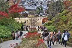 Kyoto autumn royalty free stock photos