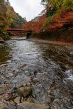 Kyoto autumn season Stock Image