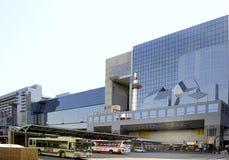 Kyoto-Bahnstation Lizenzfreies Stockbild