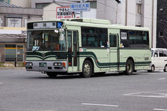 Kyoto bus Royalty Free Stock Image