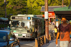 KYOTO BUS Stock Image