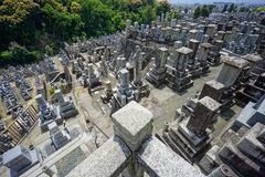 Kyoto cemetary royalty free stock photos