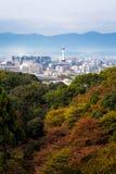 Kyoto city in autumn Stock Photos