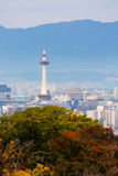 Kyoto city in autumn Royalty Free Stock Images