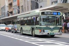 Kyoto city bus Japan Stock Photos