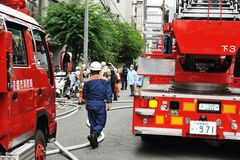 Kyoto City Fire Department Royalty Free Stock Image