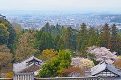 Kyoto City in Sakura Season Royalty Free Stock Photography