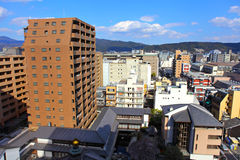 Kyoto cityscape Royalty Free Stock Photo
