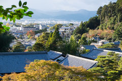 Kyoto cityscape from Ginkakuji viewpoint Stock Photo