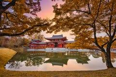 Kyoto en automne Images libres de droits