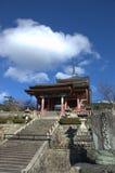 kyoto för derajapan kiyomizu tempel arkivfoto