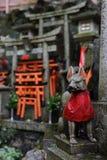 Kyoto Fushima Inari Zdjęcia Royalty Free