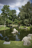 Kyoto gardens. At holland park in London Royalty Free Stock Image